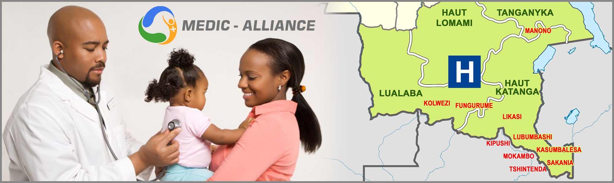 Permalien vers:Le réseau d'hôpitaux de MEDIC-ALLIANCE dans le Grand Katanga